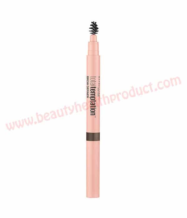 maybelline total temptation brow definer review