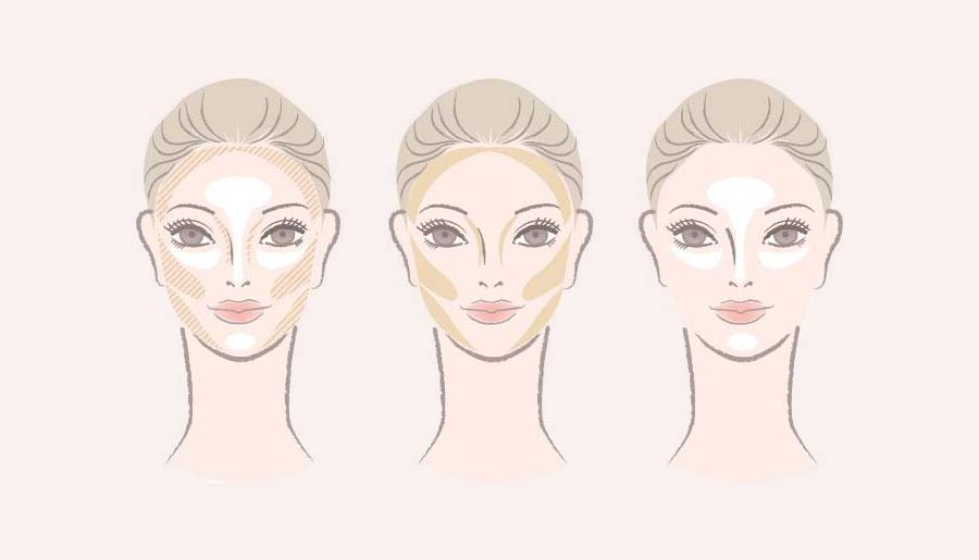 step by step contouring with pictures
